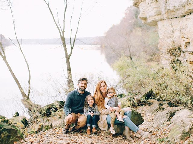 Thankful for my beautiful wife @laurenashleycolvin and our little monsters.