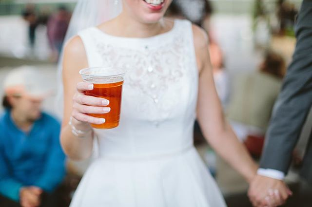 It's national beer day! Get out there and share a pint with someone you love. #nationalbeerday #bauhausbrewlabs #mnbride #craftbeerwedding