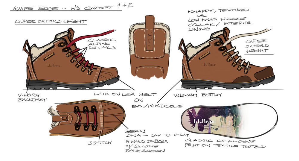 Knife Edge Hiker Concept
