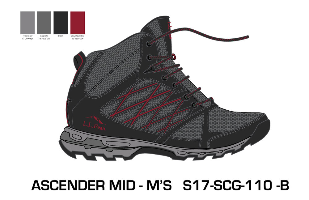Men's Mid Ascender Hiker 3.0