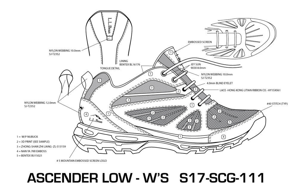 Women's Low Ascender Hiker 3.0