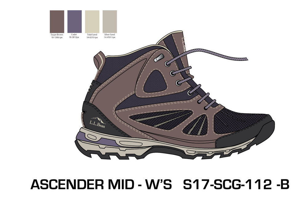 Women's Mid Ascender Hiker 3.0