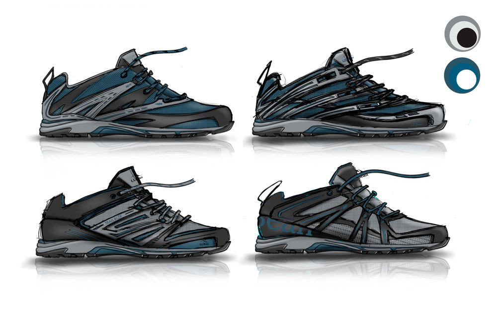 Ridge Runner Hiker Concept Renderings