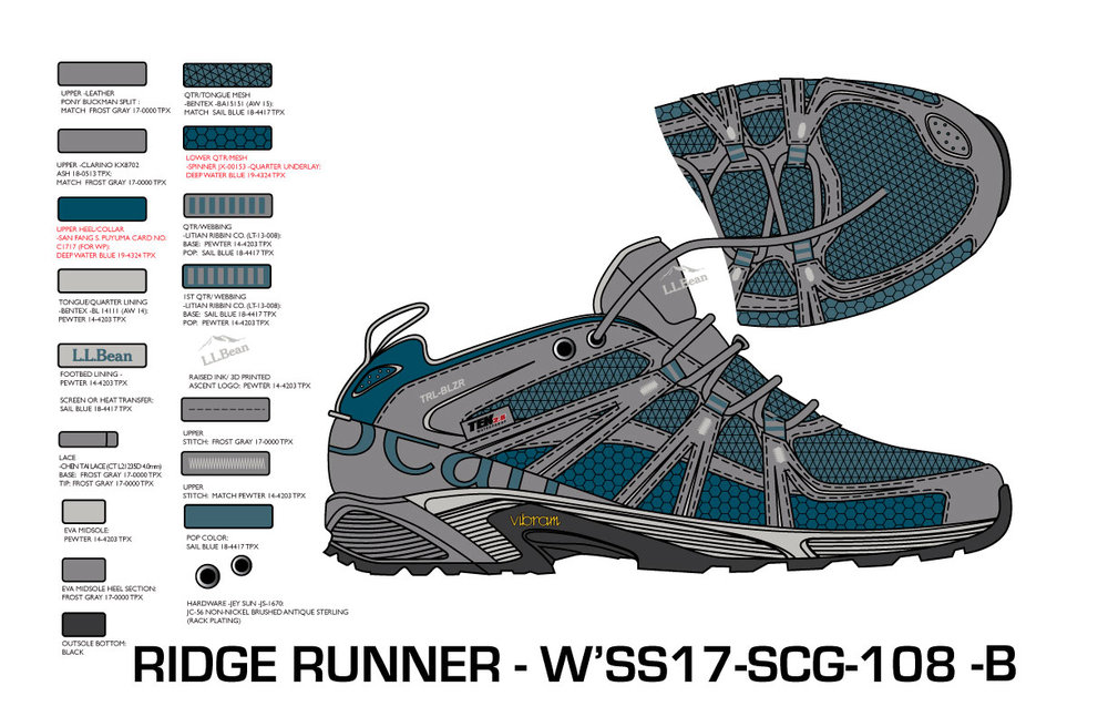 Ridge Runner Hiker