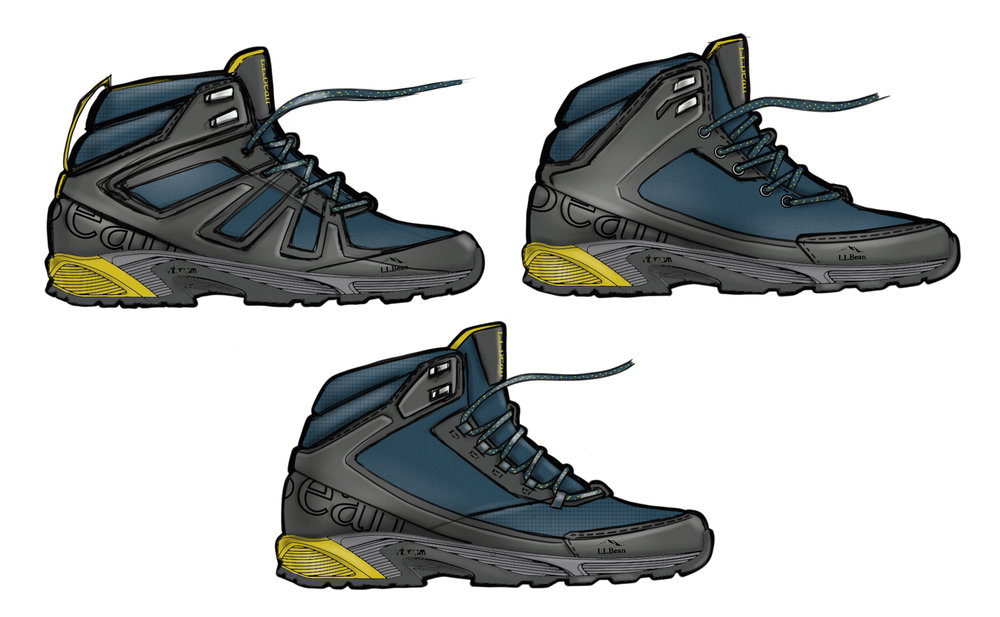 Snow Pack Hiker Concept Renderings