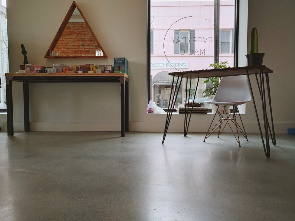 Polished concrete flooring north carolina home for Columbia flooring in danville virginia