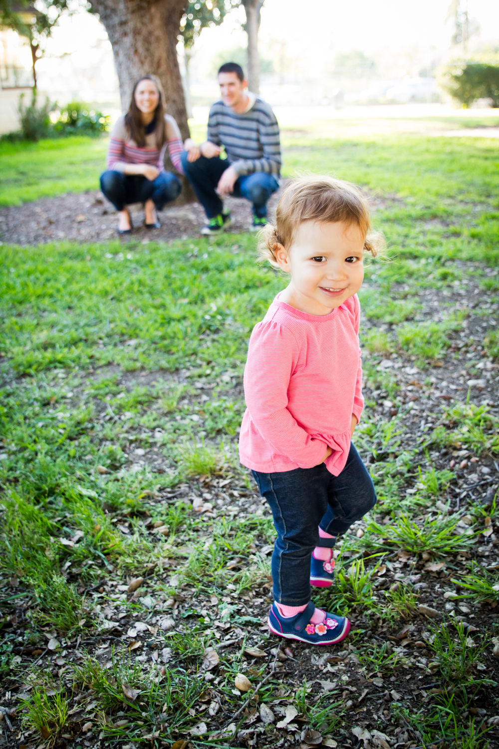 """Stephanie was so easy to work with! Our little family of three had never done a formal photo shoot before, so I had no clue how to stand, coordinate our clothes and make our active 18 month old look at the camera! Thankfully, Stephanie sent us a Pinterest board with lots of different poses, guides for what to wear and suggestions to keep our girl still for a few seconds at a time.   The actual photo shoot was a breeze. Stephanie was able to work quickly and get some fantastic shots before my husband's allergies got the best of him. :) She captured some great shots of our family and our girl...  But overall, Stephanie/PP was really helpful in preparing us for our photo shoot, being flexible and open with what we wanted to try during the photo shoot and provided a fantastic result that we'll cherish for years to come.""      -Jill R."