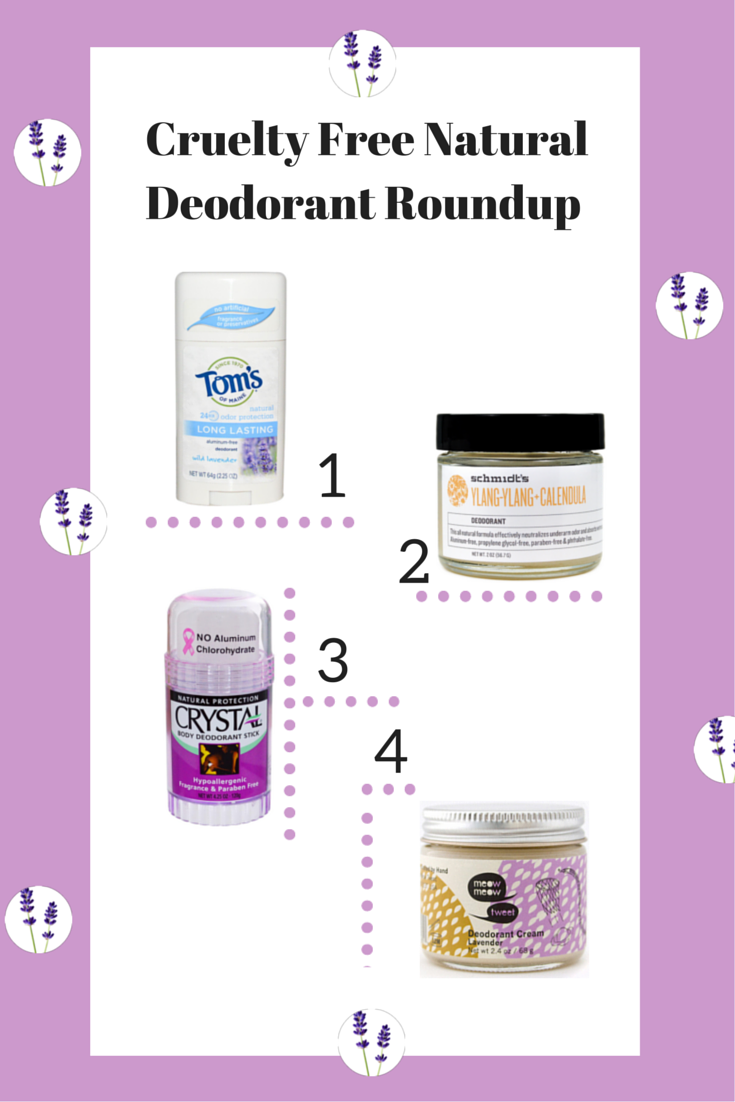 Cruelty free natural deodorant review