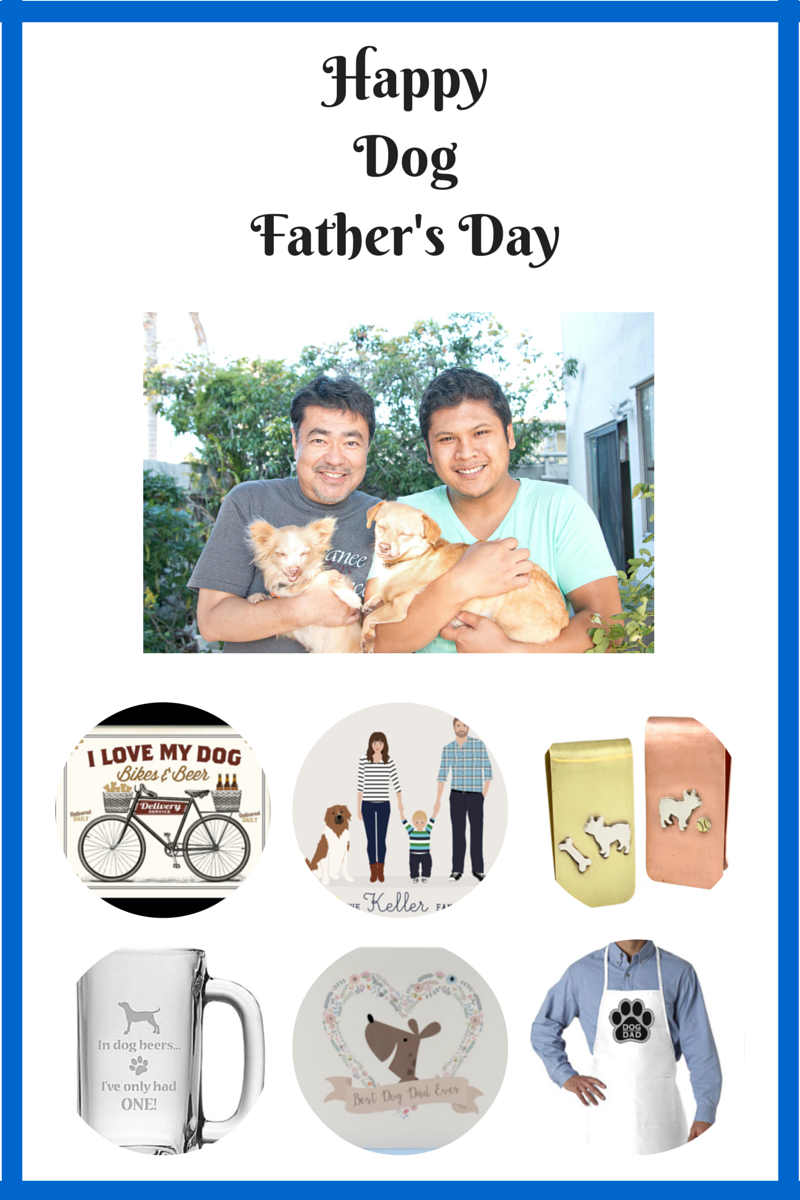 Dog Father's Day gift guide roundup by Drool of Happiness
