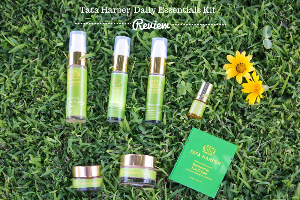 Tata Harper Daily Essentials Kit review for acne