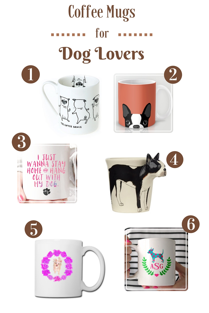 Coffee Mugs for Dog Lovers