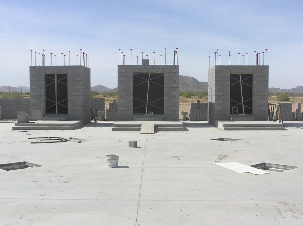 Main Shrines Under Construction (2008)