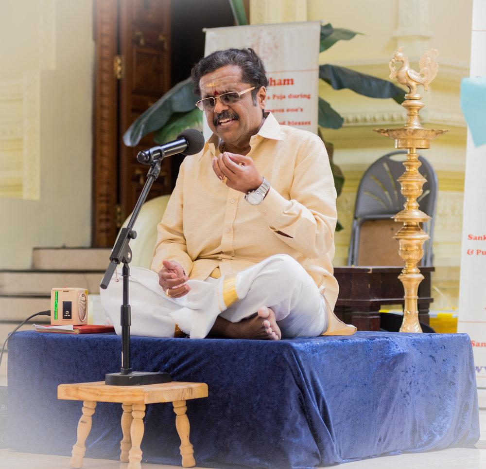 Sirkazhi Sivachidhambaram Vocal Concert @ Mahaganapati Temple