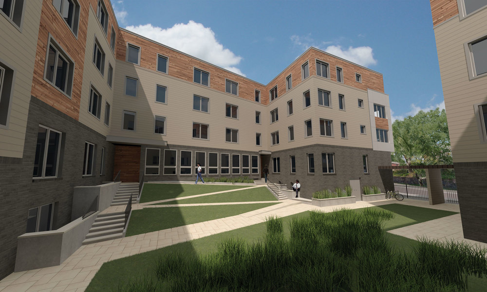 Wister Court - La Salle University