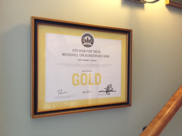 Certified 'Gold' in the LEED for Homes Program