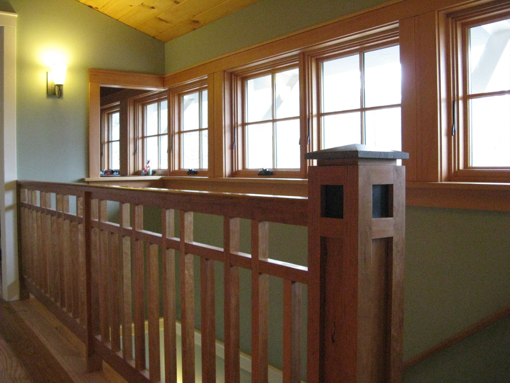 Custom Cherry Railing