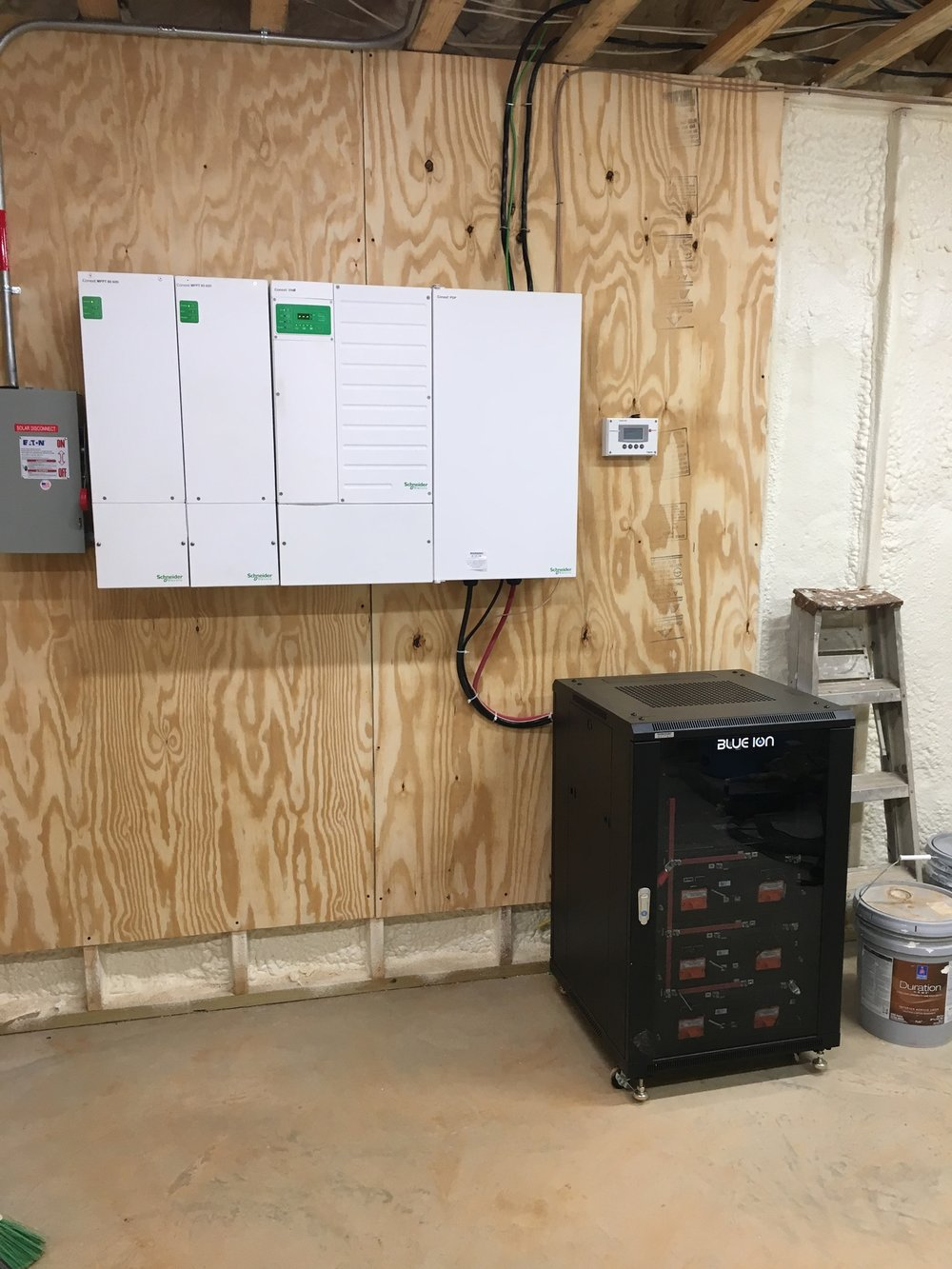 Photovoltaic Inverters and Battery Backup