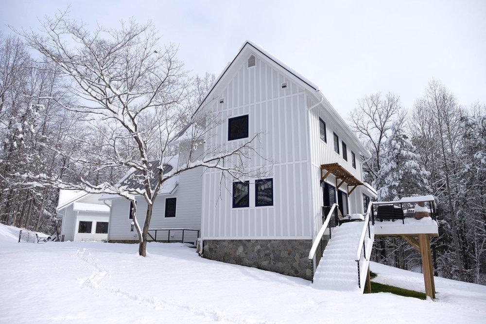 Franks Residence - West Elevation