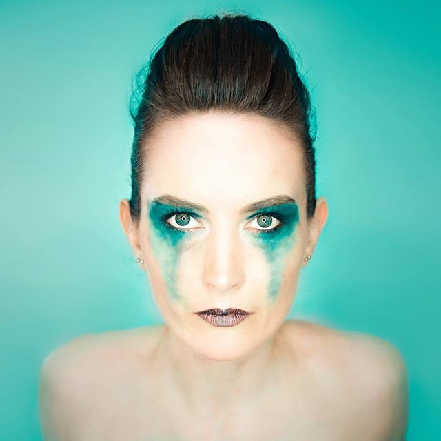 Why ever not #colour #color  #green #turquoise #makeup #portrait #ringlight #selfportrait #selfie #nikon #nikonphotography #nikonphotographer #london #studio #dayoff #picoftheday #pictureoftheday #photooftheday #followme