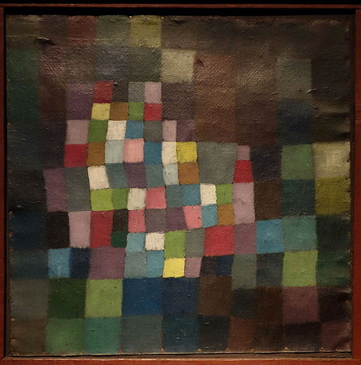 """Reference to a flowering tree"" 1925 by paul klee"