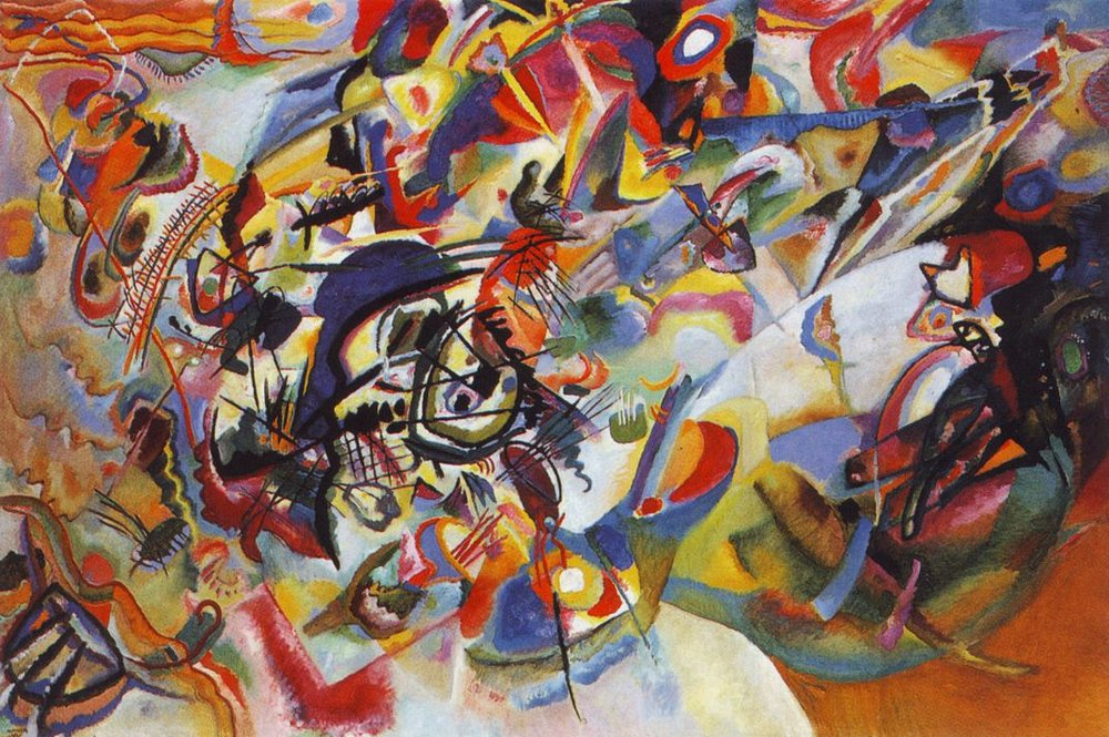 Composition VII by Wassily Kandinsky 1913