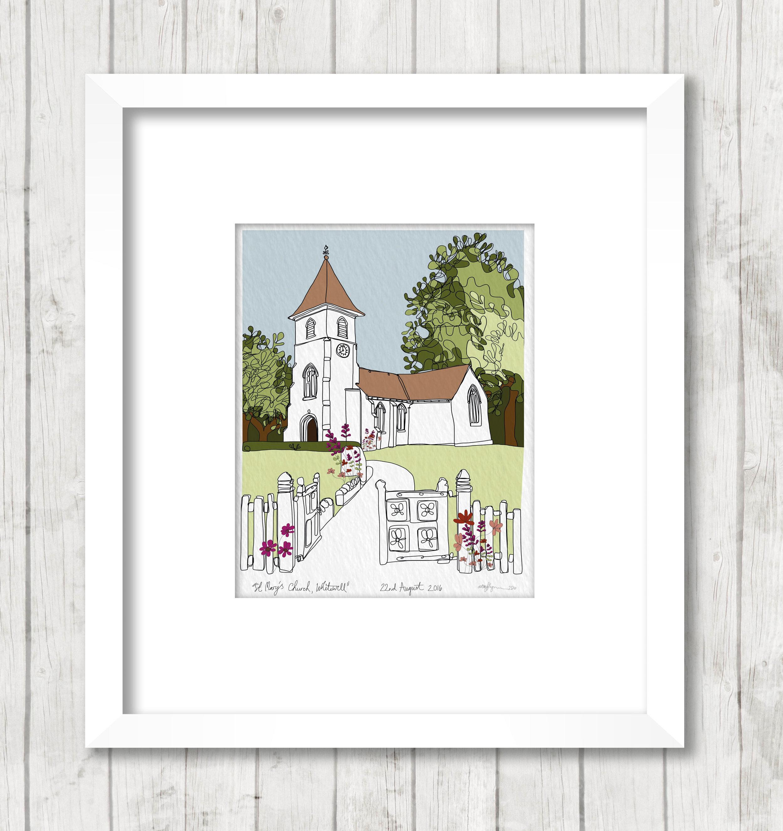 Get Your Own Christening Photograph As An Art Print A4 A3 A2 A1
