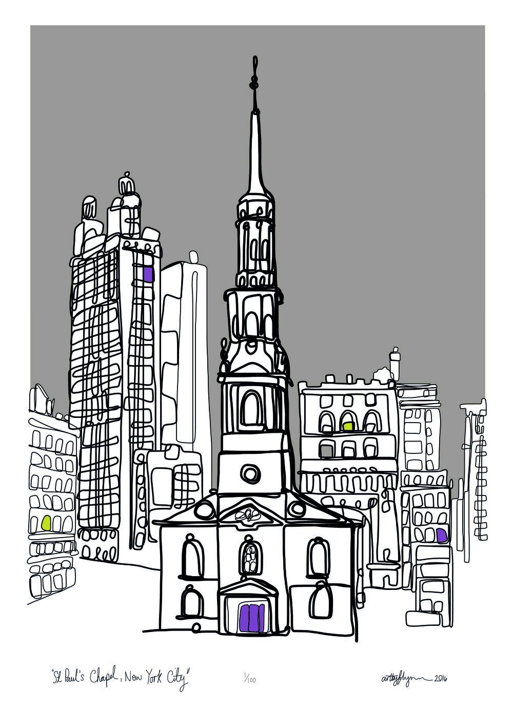 St Paul's chapel, New York City