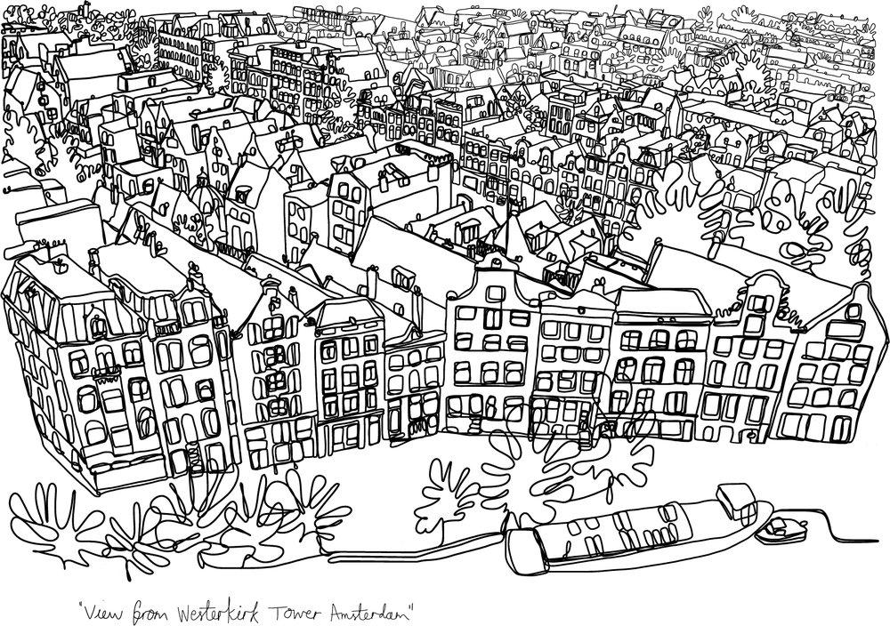Westerkirk View, Amsterdam
