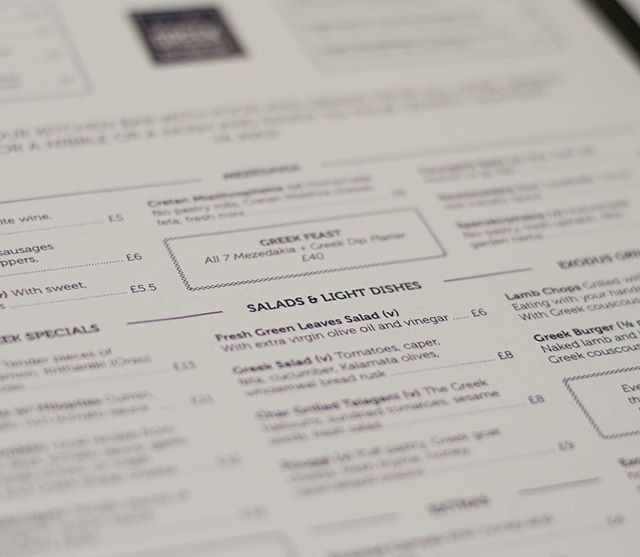 Proofreading the copy we wrote for our client's new menu makes our tummies grumble 🐗🐷 #creative #branding #menudesign