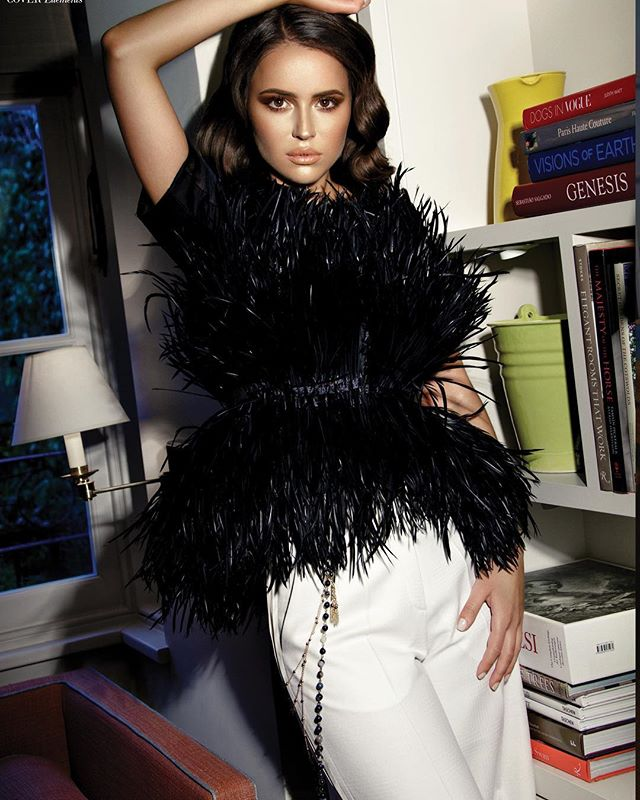 Miss Sweden in @houseofronald trousers for Elements magazine. Thankyou @shopconsept #londonfashion #fashion