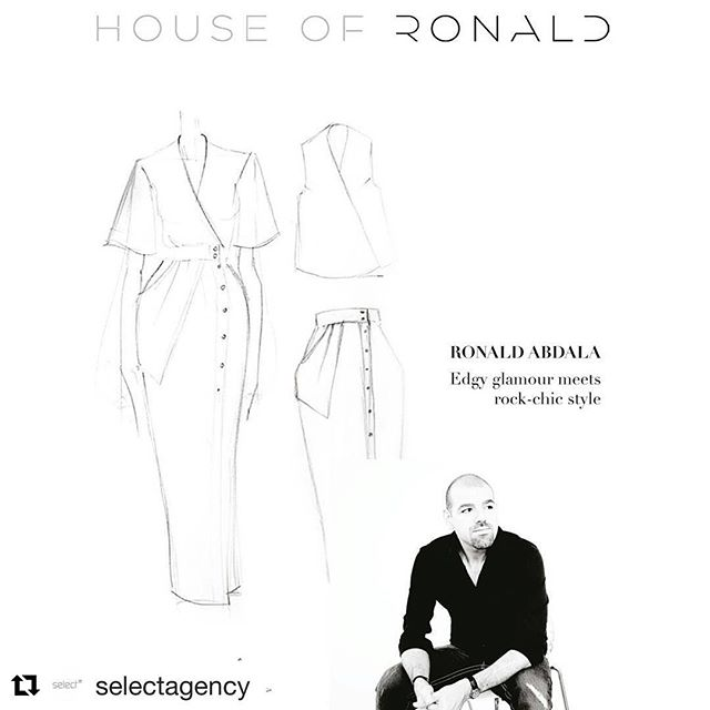 @houseofronald in collaboration @selectagency #fashion