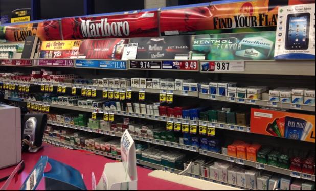 tobacco ads