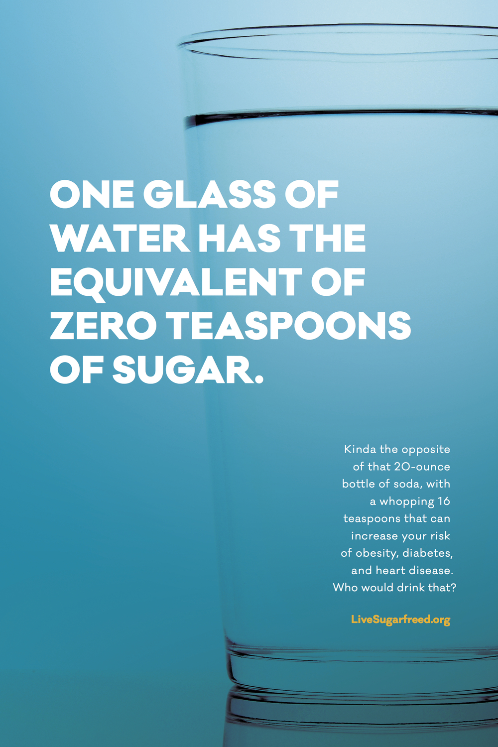 Live Sugarfreed poster - one glass of water - to print.jpg