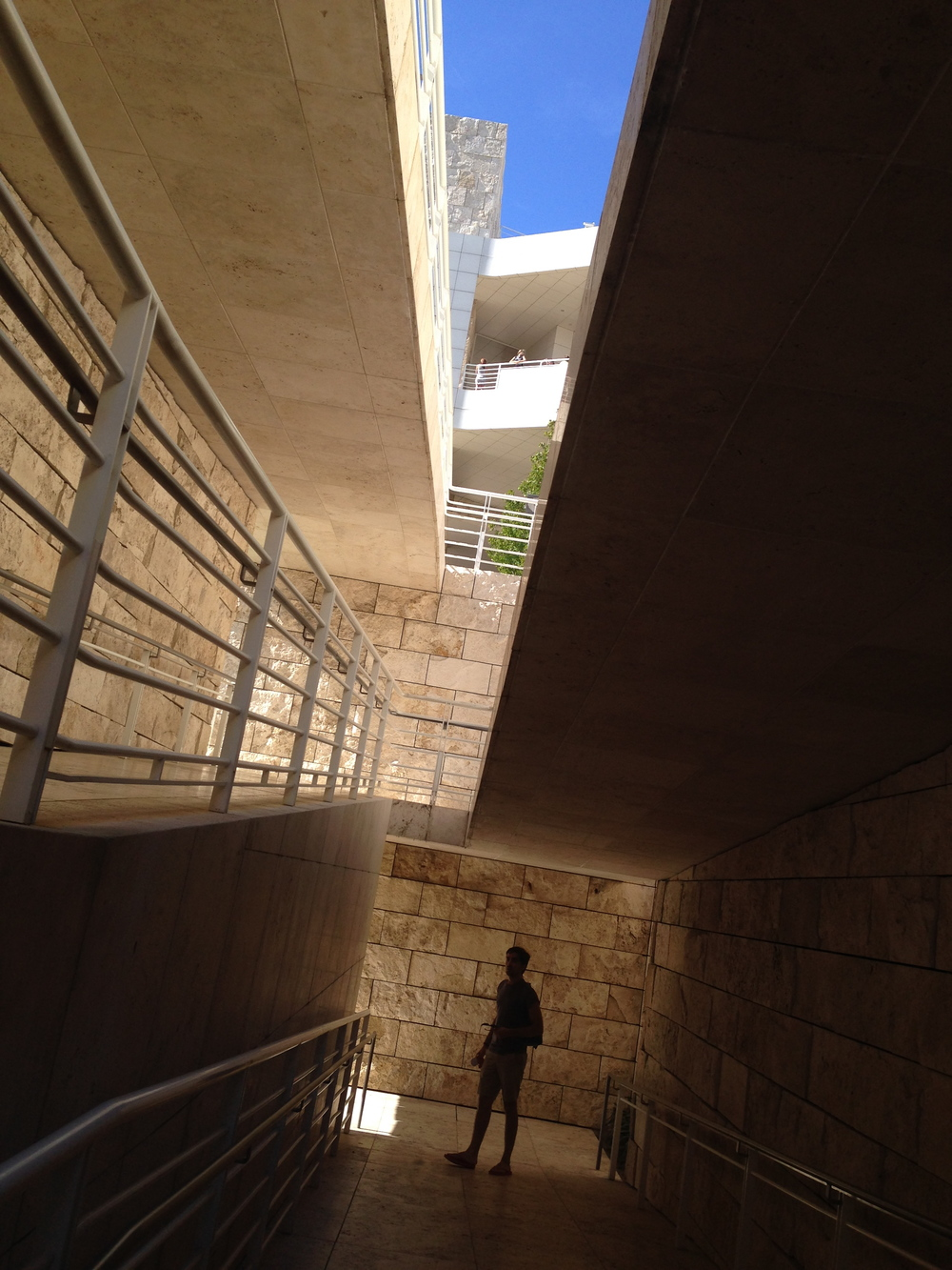 Getty Museum, LA, CA, 8/24/14