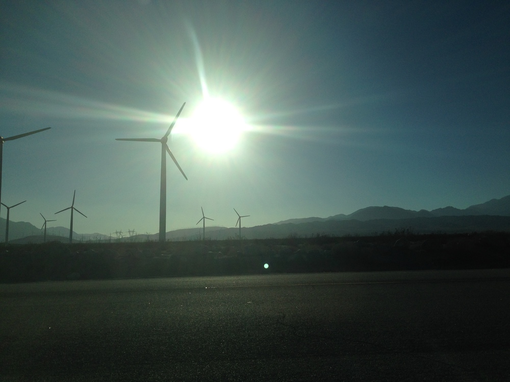 North of Palm Springs, CA, 9/1/14