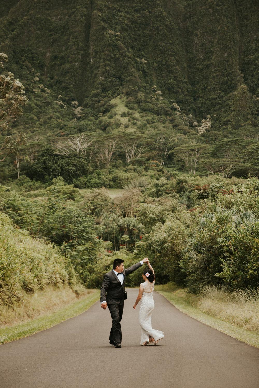 Donna + Eric | Ho\'omaluhia Botanical Gardens | Hawaii Wedding ...