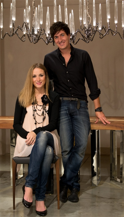 Barbara Bertocci and Cosimo Terzani at IPM Atelier (2014)
