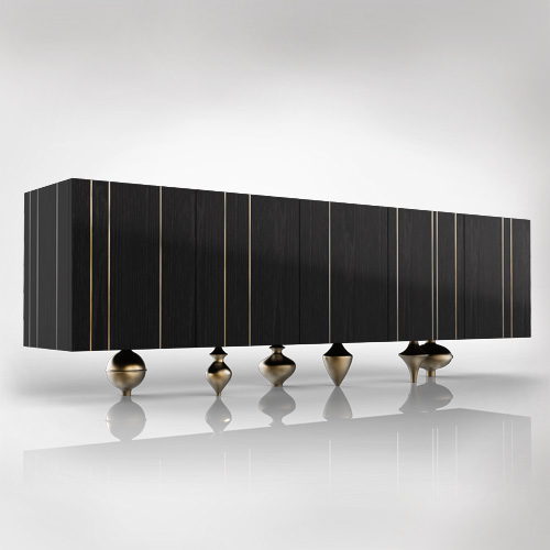 Black Credenza - from € 7.800