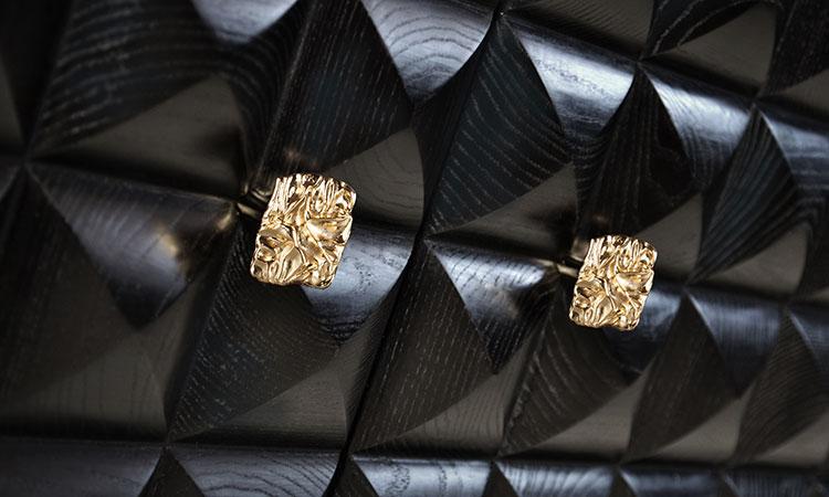 Il Pezzo 10 Black&Gold Credenza by Il Pezzo Mancante