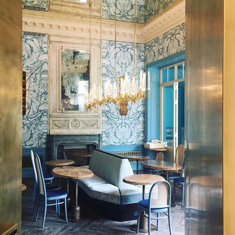 B.B. restaurant at Blanche Club, Paris.