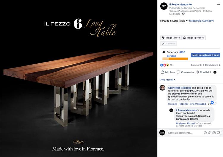 Il Pezzo 6 Table Sophokles Tasioulis