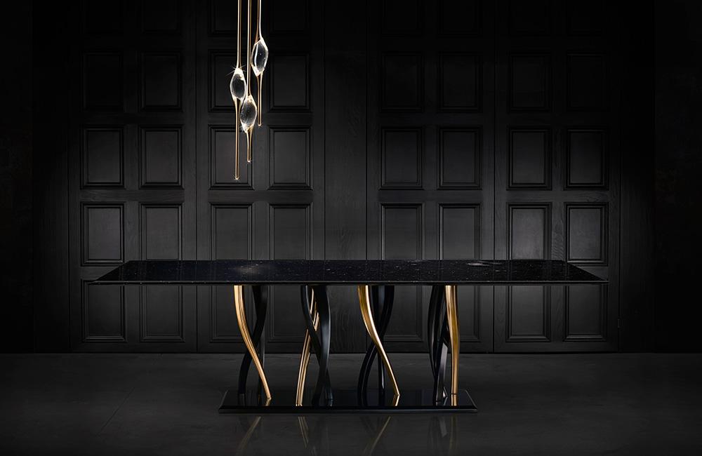 Il Pezzo 8 Marble Table black and gold Il Pezzo Mancante.jpg
