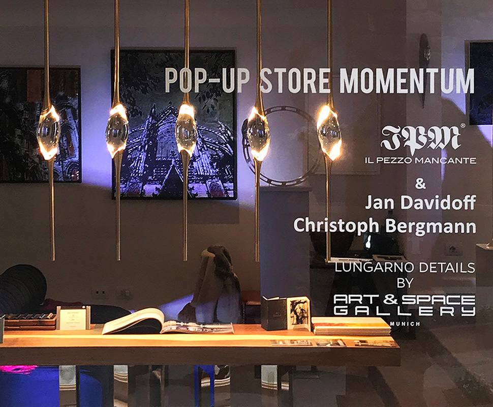 Pop-Up Store Momentum, Lungarno Collection, Florence.