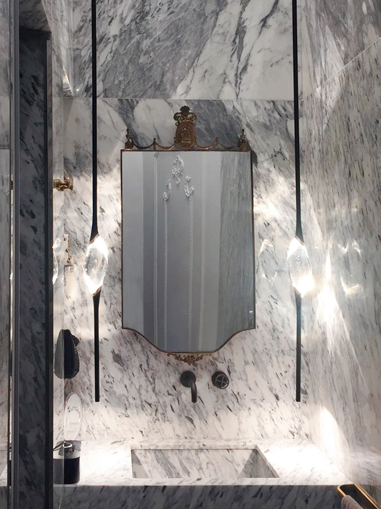 Il Pezzo 12 Pendant by Il Pezzo Mancante crystal drop light