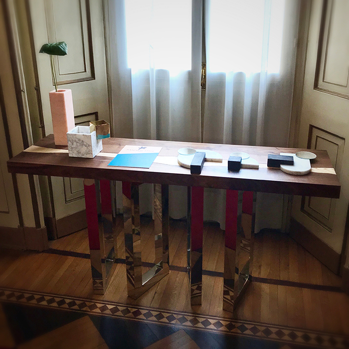 Il Pezzo 6 Console at Milan Design Week 2019