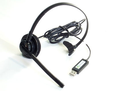 The Dragon Headset, comes standard with all orders of Dragon Medical Practice Edition II