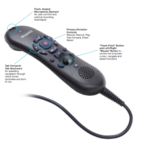 The Nuance PowerMic II is an incredible tool for anyone using Dragon dictation technology, it can be purchased as part of the Dragon Medical Practice Edition II w/PowerMic software package