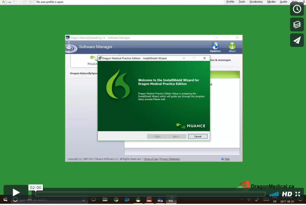 TUTORIAL #27: Updating Dragon Medical   This tutorial will show you how to update Dragon Medical when updates are available. We recommend running updates regularly to ensure accuracy.