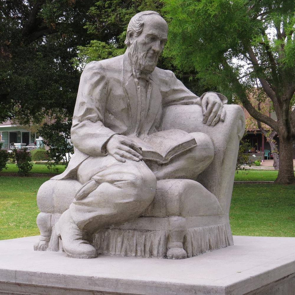 """John Greenleaf Whittier"" Statue by Christoph Rittershausen"