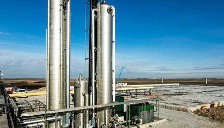 Gas Upgrading Skid (GUS)